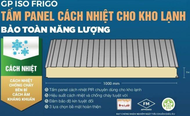 tam panel pir chong chay cach nhiet sptbuilding 3a 655x400 - PANEL PIR - TẤM PANEL CÁCH NHIỆT CHỐNG CHÁY THƯƠNG HIỆU GREENPAN