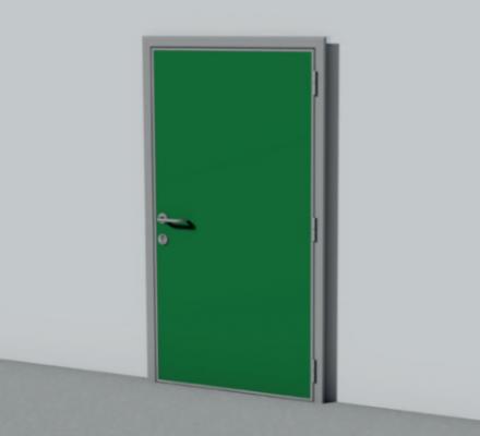011. CỬA PANEL INTERCOLD Hình ảnh cửa Service Door SPT 01 440x400 - CỬA PANEL INTERCOLD