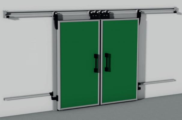011. CỬA PANEL INTERCOLD Hình ảnh cửa Sliding Door 2 Leaves SPT 11 606x400 - CỬA PANEL INTERCOLD