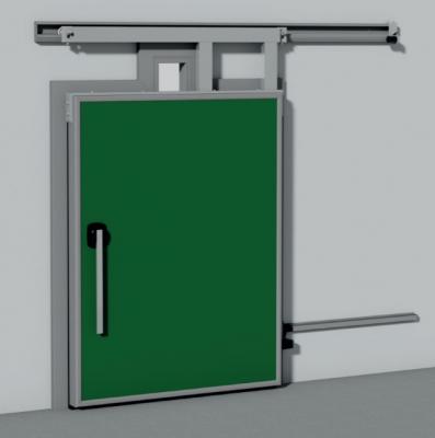 011. CỬA PANEL INTERCOLD Hình ảnh cửa Sliding Door With Rail Passage SPT 15 397x400 - CỬA PANEL INTERCOLD