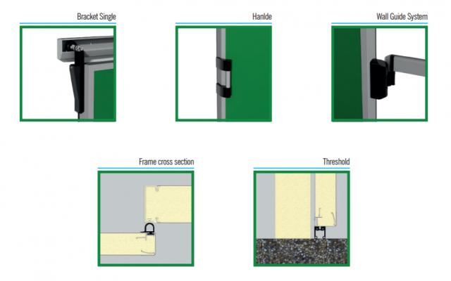 011. CỬA PANEL INTERCOLD Phụ kiện kèm theo cửa Sliding Light Door SPT 14 640x400 - CỬA PANEL INTERCOLD