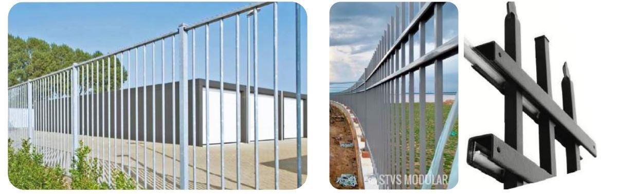 Hệ thống hàng rào STVS Modular và ưu điểm STVS Modular