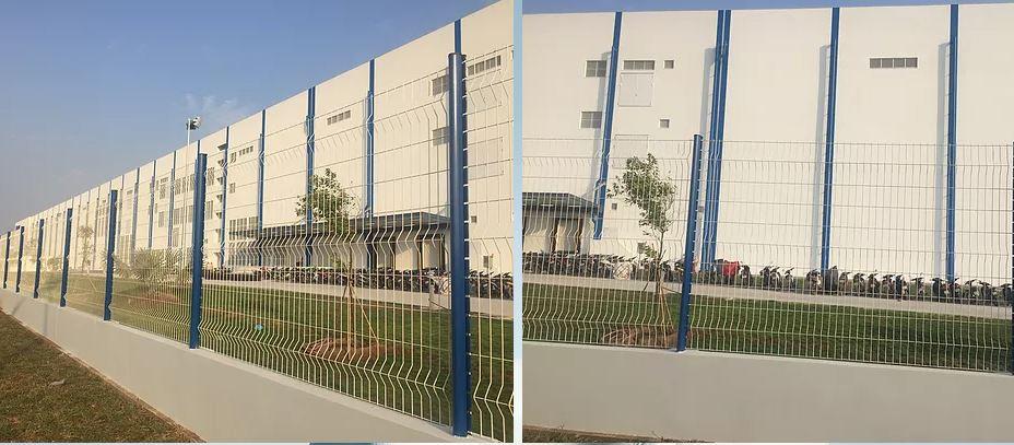 Hàng Rào lưới thép - Đơn giản và sang trọng theo phong cách Châu Âu