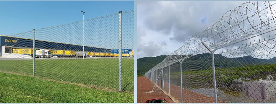 Hàng rào lưới B40 cho phép độ bền chống rỉ sét được STVS bảo hành 10 năm